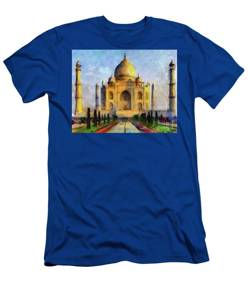 Taj Mahal Men's T-Shirt (Athletic Fit)