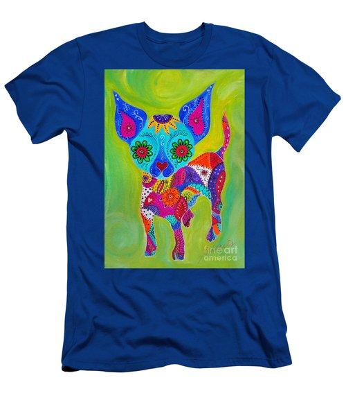 Talavera Chihuahua Men's T-Shirt (Athletic Fit)