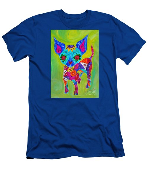 Talavera Chihuahua Men's T-Shirt (Athletic Fit)