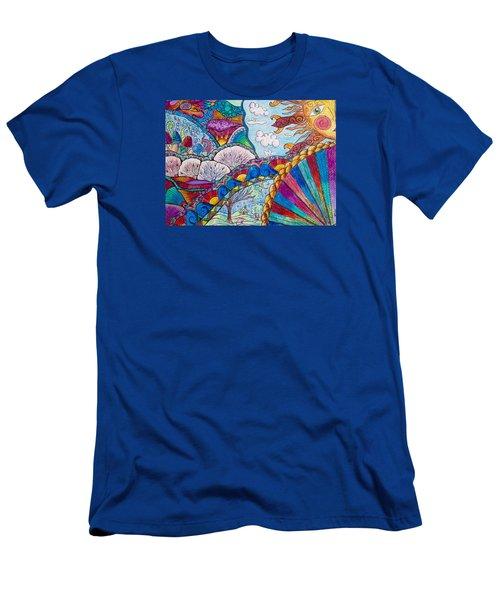 Tapestry Of Joy Men's T-Shirt (Slim Fit) by Megan Walsh
