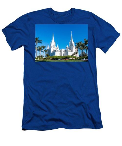 Temple Glow Men's T-Shirt (Slim Fit) by Patti Deters