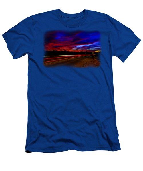 Ten Seconds Of Bliss Men's T-Shirt (Athletic Fit)