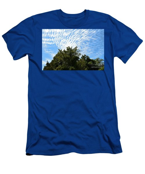 Men's T-Shirt (Slim Fit) featuring the photograph Texas Scene - Midday  by Ray Shrewsberry