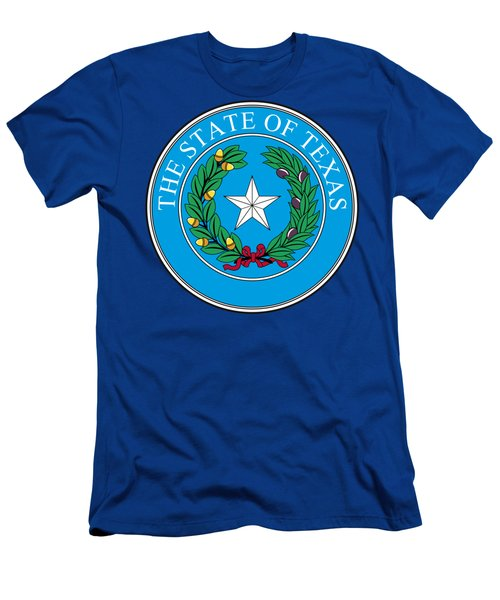 Texas State Seal Men's T-Shirt (Athletic Fit)