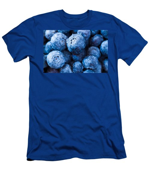 Men's T-Shirt (Slim Fit) featuring the photograph That's The Blues by Yvette Van Teeffelen