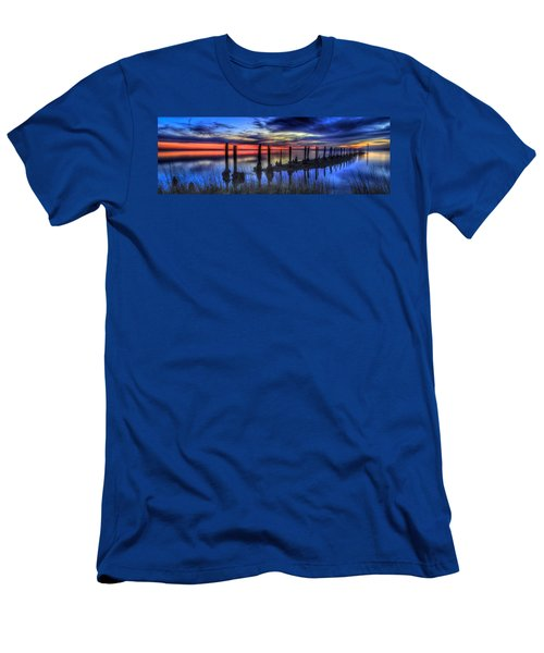 The Blue Hour Comes To St. Marks #2 Men's T-Shirt (Athletic Fit)