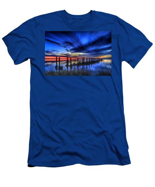 The Blue Hour Comes To St. Marks #1 Men's T-Shirt (Athletic Fit)