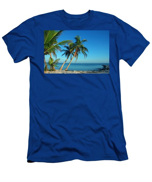 The Blue Lagoon Men's T-Shirt (Athletic Fit)