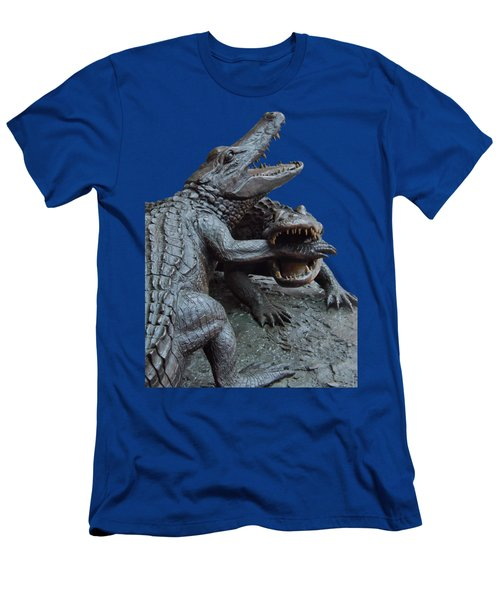 The Chomp Transparent For Customization Men's T-Shirt (Slim Fit) by D Hackett