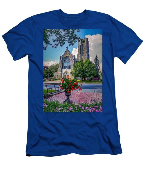 The Church In Summer Men's T-Shirt (Athletic Fit)