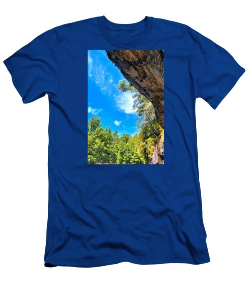 The Cliffs At Bridal Veil Falls Men's T-Shirt (Athletic Fit)