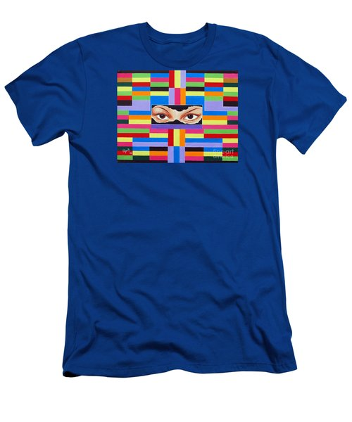 The Colour Of Life Men's T-Shirt (Slim Fit) by Ragunath Venkatraman