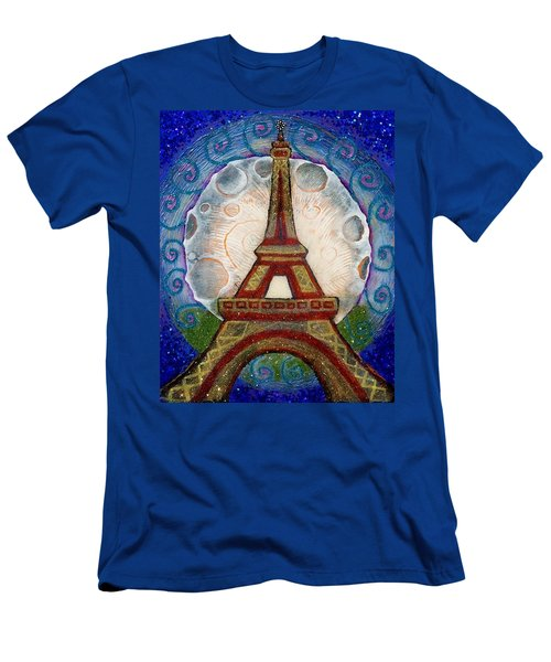 The Evening Of A Ready-wish Upon A Parisian High Point Men's T-Shirt (Athletic Fit)