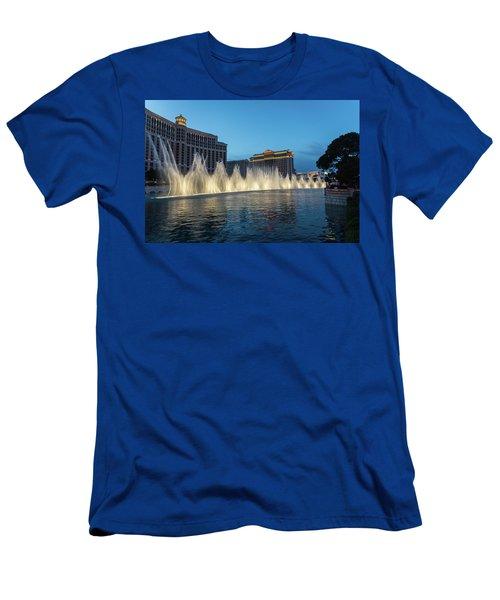 The Fabulous Fountains At Bellagio - Las Vegas Men's T-Shirt (Athletic Fit)