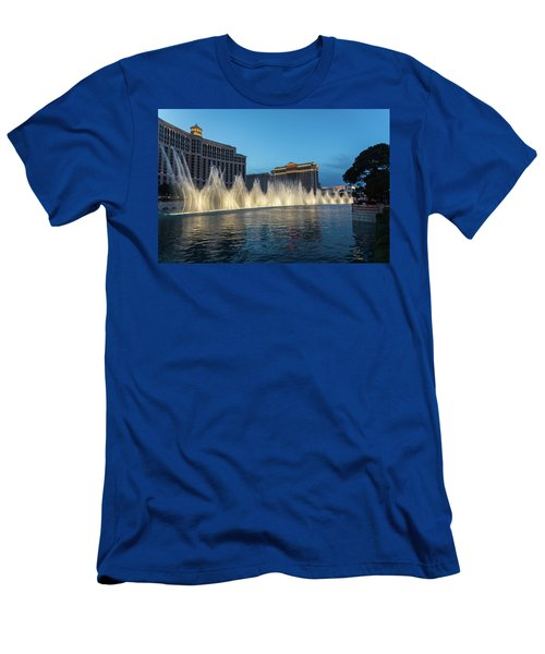 The Fabulous Fountains At Bellagio - Las Vegas Men's T-Shirt (Athletic Fit)
