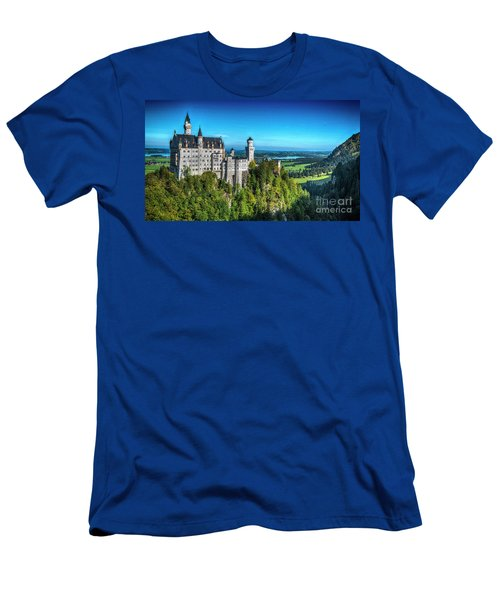 The Fairy Tale Castle Men's T-Shirt (Athletic Fit)