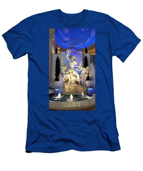 The Forum Shop Statues At Ceasars Palace Men's T-Shirt (Athletic Fit)