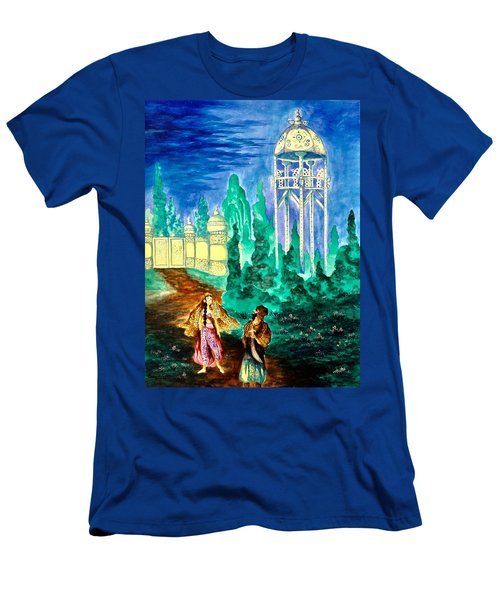 The Garden Of Pictures Men's T-Shirt (Athletic Fit)
