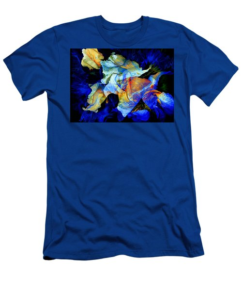 Men's T-Shirt (Athletic Fit) featuring the painting The Heart Of My Garden by Hanne Lore Koehler
