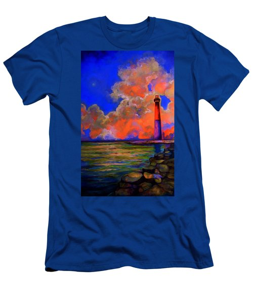 Men's T-Shirt (Slim Fit) featuring the painting The Light by Emery Franklin