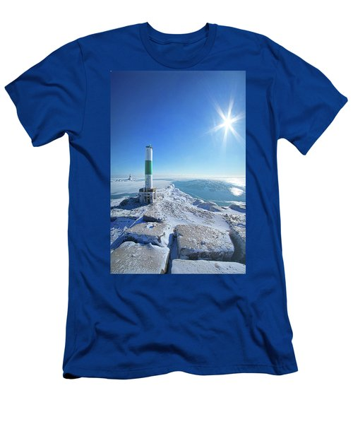 Men's T-Shirt (Slim Fit) featuring the photograph The Light Keepers by Phil Koch