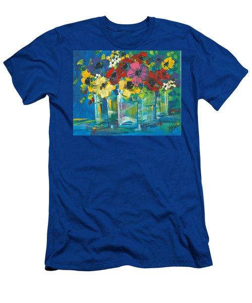 The Line-up Men's T-Shirt (Slim Fit) by Terri Einer