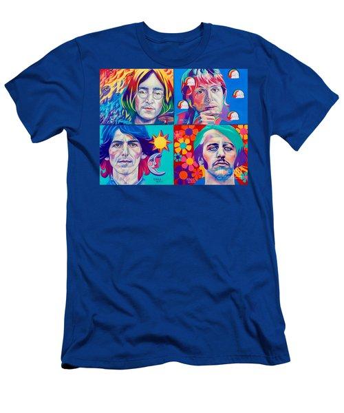 Come Together Men's T-Shirt (Slim Fit) by Rebecca Glaze
