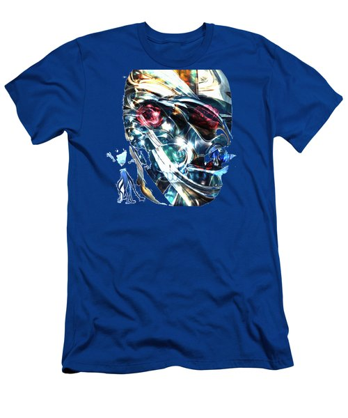 The Man In The Chromium Mask Men's T-Shirt (Athletic Fit)
