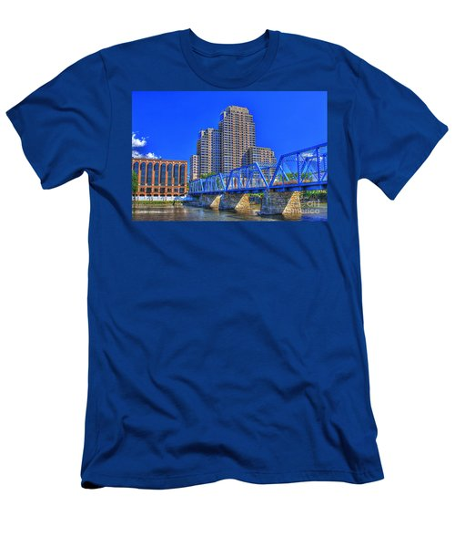 The Old Blue Bridge Men's T-Shirt (Athletic Fit)