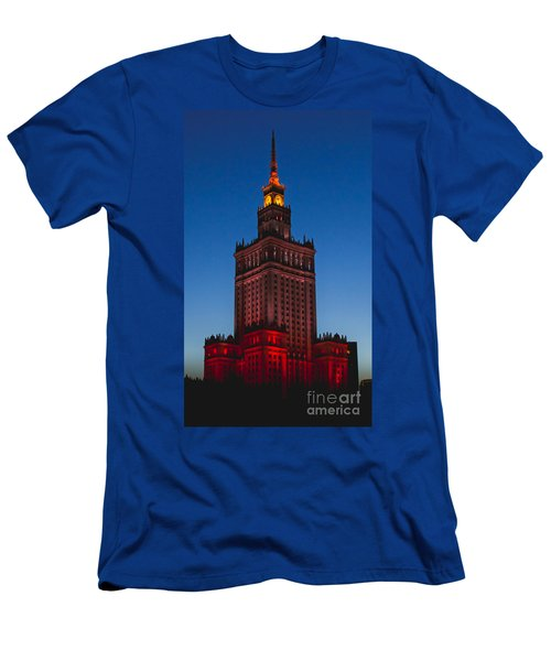 The Palace Of Culture And Science  Men's T-Shirt (Athletic Fit)