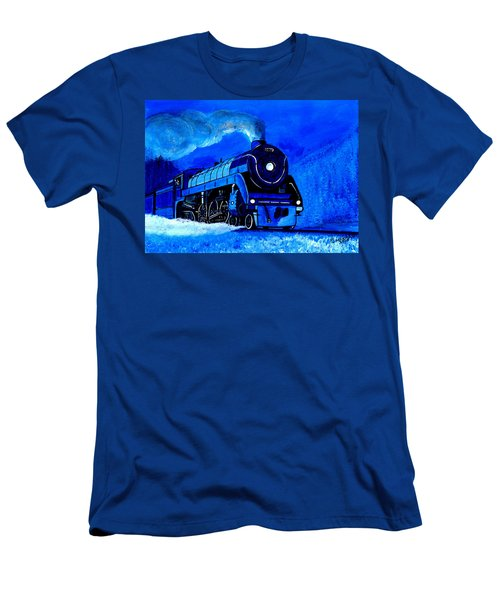The Royal Blue Express Men's T-Shirt (Athletic Fit)