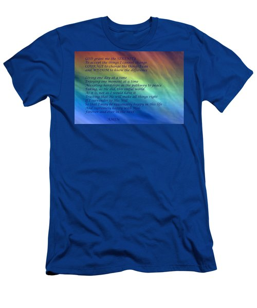 The Serenity Prayer Men's T-Shirt (Athletic Fit)