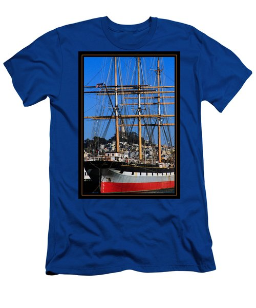 The Ship Balclutha Men's T-Shirt (Athletic Fit)