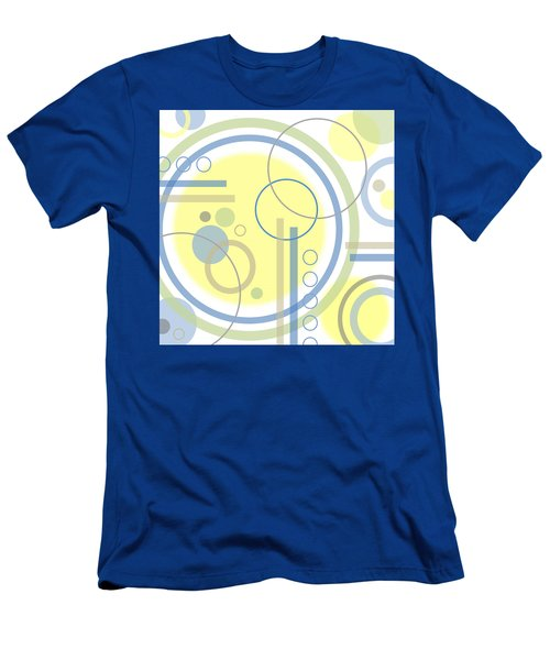 The Softness Of Circles Men's T-Shirt (Slim Fit) by Tara Hutton