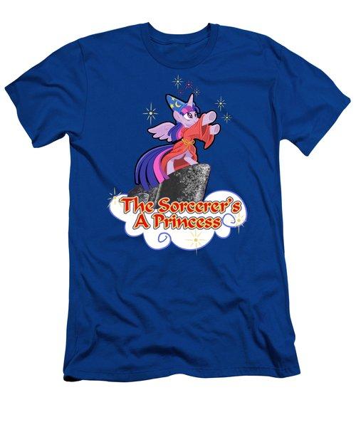 The Sorcerer's A Princess Men's T-Shirt (Slim Fit) by J L Meadows