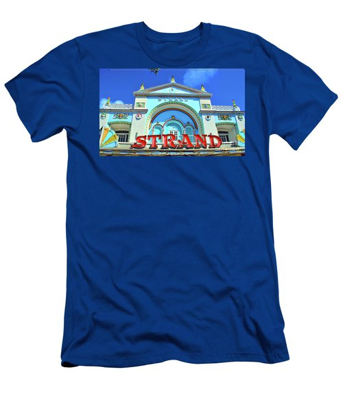 Men's T-Shirt (Athletic Fit) featuring the photograph The Strand by Jost Houk