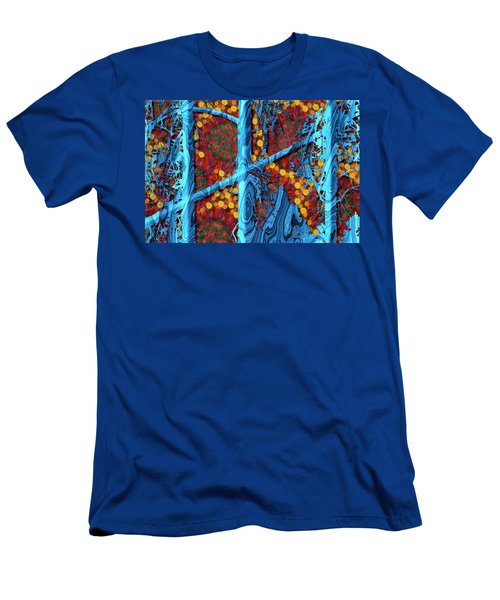The Summer We Went To Blue Tree Men's T-Shirt (Athletic Fit)
