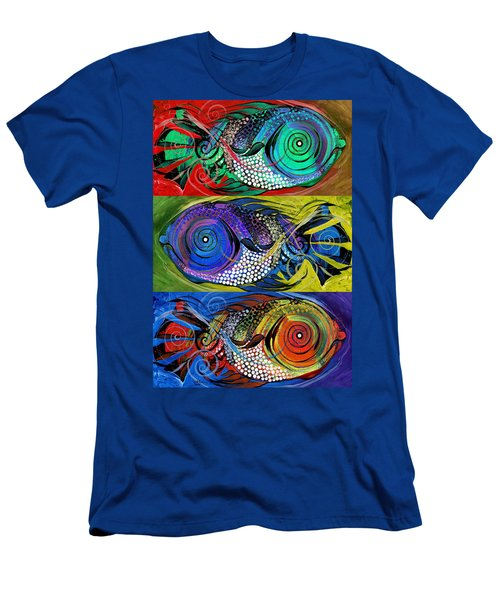 The Three Fishes Men's T-Shirt (Athletic Fit)