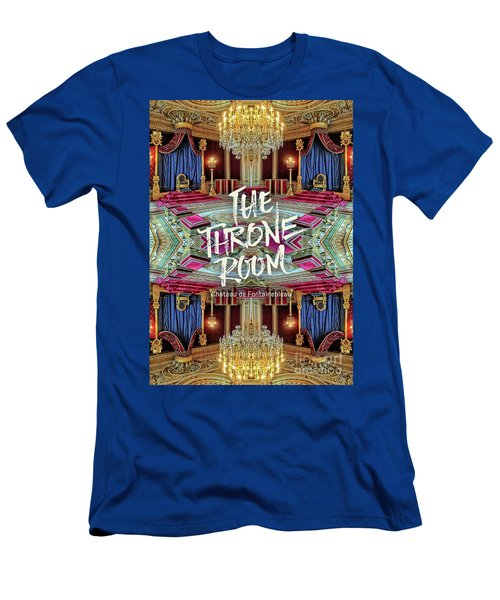 The Throne Room Fontainebleau Chateau Gorgeous Royal Interior Men's T-Shirt (Athletic Fit)