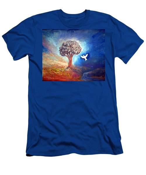 The Tree Men's T-Shirt (Slim Fit) by Winsome Gunning