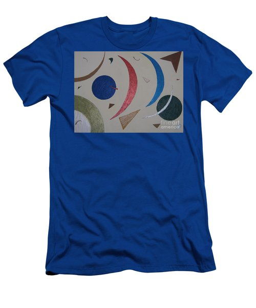 The Universe Men's T-Shirt (Slim Fit) by Barbara Yearty