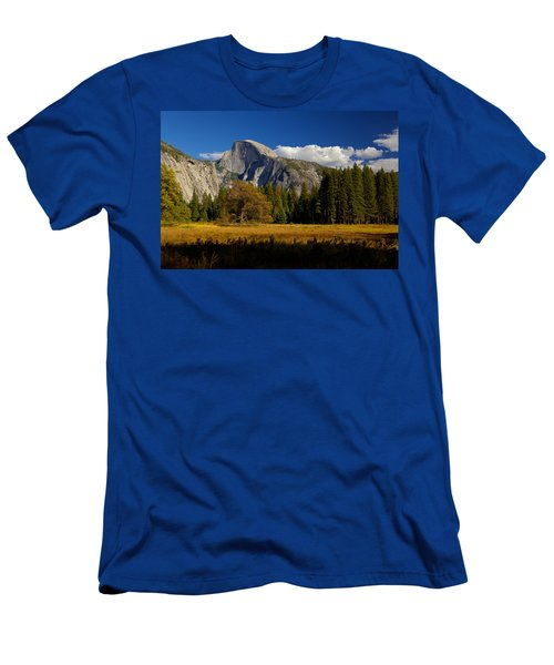 Men's T-Shirt (Slim Fit) featuring the photograph The Valley by Evgeny Vasenev
