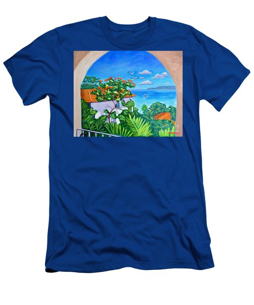 The View From A Window Men's T-Shirt (Athletic Fit)