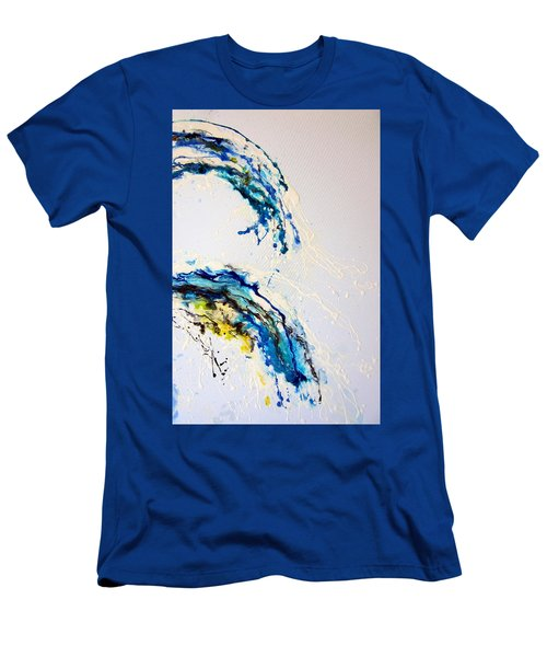 The Wave 3 Men's T-Shirt (Slim Fit) by Roberto Gagliardi