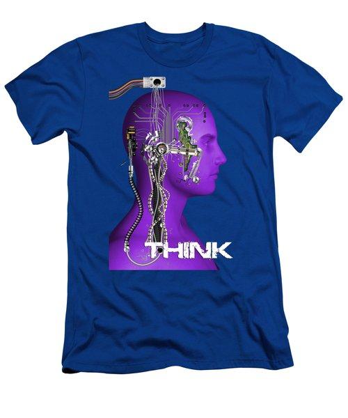 Think Men's T-Shirt (Athletic Fit)