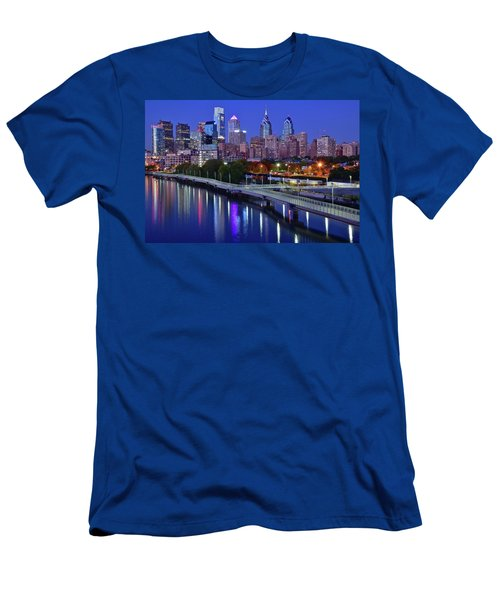 Men's T-Shirt (Slim Fit) featuring the photograph This Is The Shot You Want by Frozen in Time Fine Art Photography