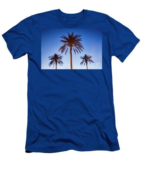 Three Palms Men's T-Shirt (Athletic Fit)