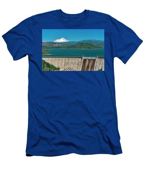 Three Shastas Men's T-Shirt (Athletic Fit)