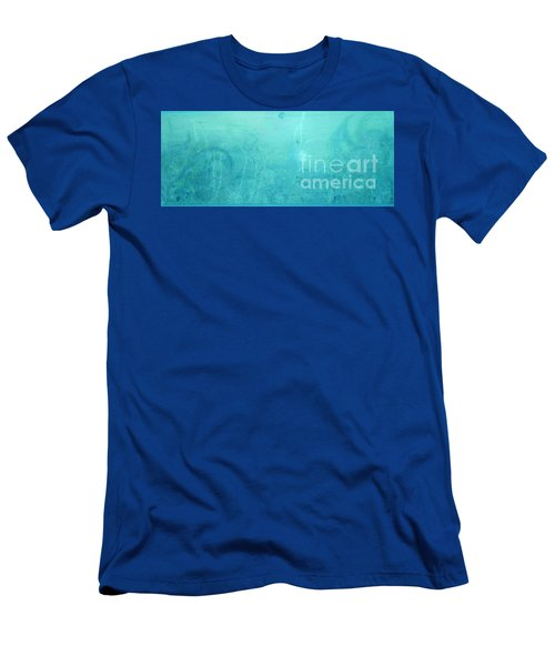 Through The Door Of Christ Consciousness Men's T-Shirt (Slim Fit) by Talisa Hartley