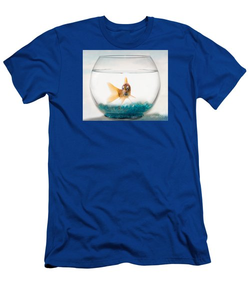 Tiger Fish Men's T-Shirt (Slim Fit) by Juli Scalzi
